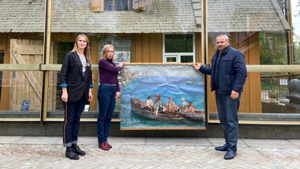 Фонд Музейного комплекса в Разливе обогатился живописным полотном