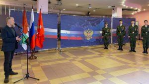 Команду старшеклассников Кронштадта проводили на соревнования в Чечню