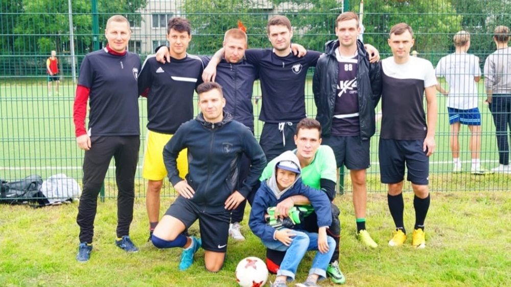 Сборная Курортного района по футболу завоевала третье место в Кубке губернатора