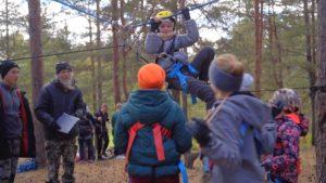 В Сестрорецке прошли соревнования по туристскому многоборью «Золотая осень»