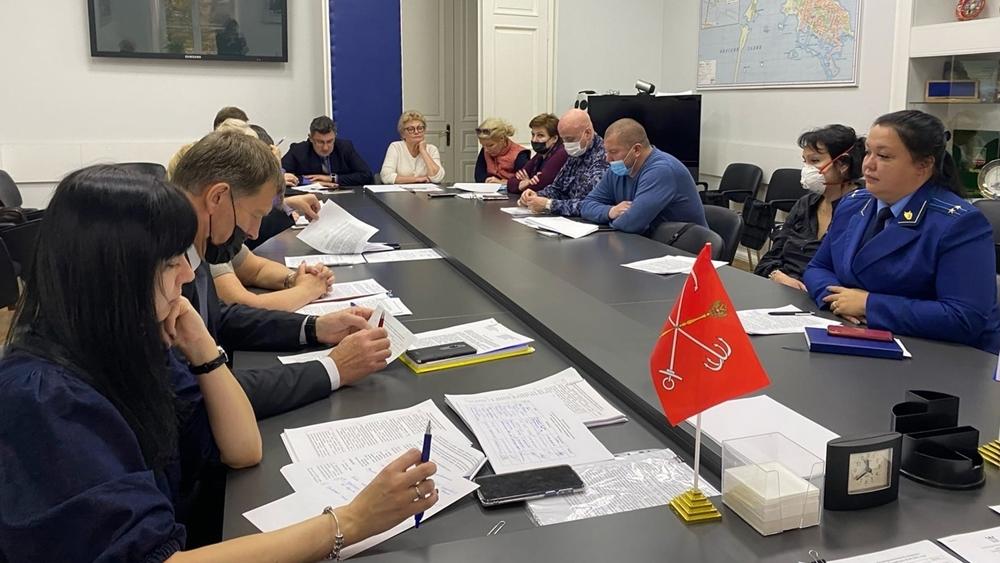 В Кронштадте прошло заседание районной Антинаркотической комиссии