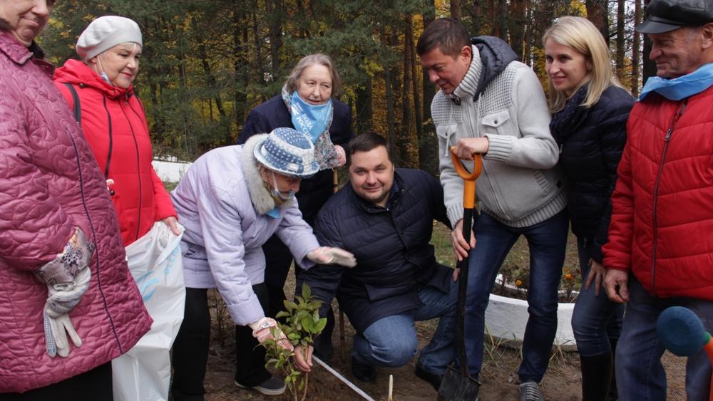 В Сестрорецке отметили День пожилого человека
