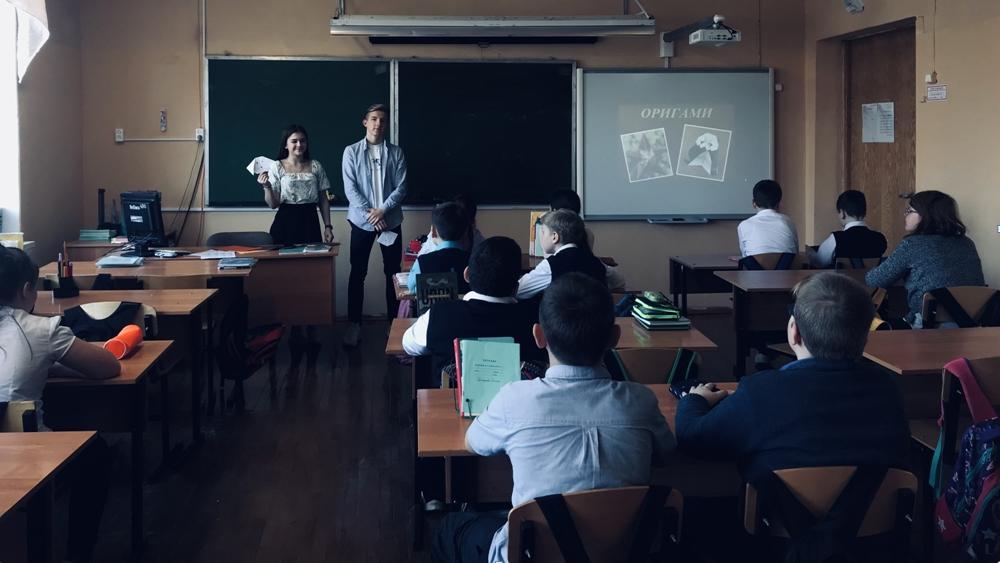 В школе № 541 провели День ученического самоуправления
