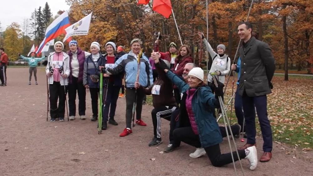 Всероссийский день ходьбы прошел в парке «Дубки»